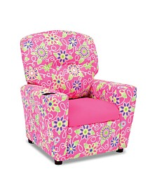 Kangaroo Trading Co. Kid's Recliner with Cupholder