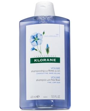 Shampoo With Flax Fiber