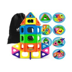 Discovery Kids Toy Magnetic Tiles- Stem