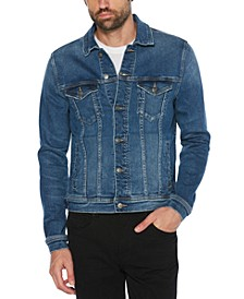Men's Slim-Fit Frost Denim Jacket