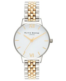 Olivia Burton Women's Two-Tone Stainless Steel Bracelet Watch 30mm