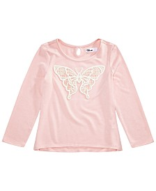 Epic Threads Toddler Girls Lace Butterfly T-Shirt, Created for Macy's