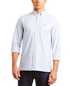 Men's Gingham Oxford Shirt