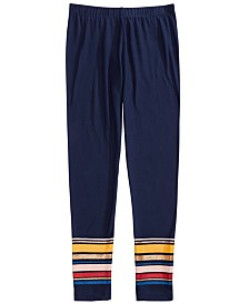 Epic Threads Big Girls Border Stripe Leggings, Created For Macy's