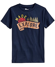 Big Boys Made To Explore T-Shirt, Created For Macy's