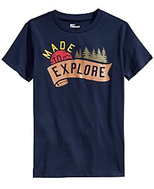 Epic Threads Big Boys Made To Explore T-Shirt, Created For Macy's