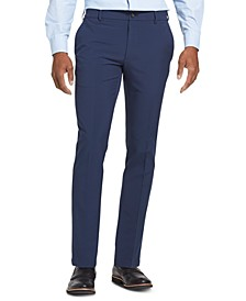 Men's Flex 3 Slim-Fit 4-Way Performance Stretch Non-Iron Flat-Front Dress Pants