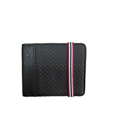 Diamond Textured Vegan Leather Wallet