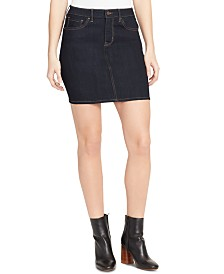 WILLIAM RAST Denim Mini Skirt
