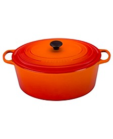 Enameled Cast Iron 15.5-Qt. Oval Dutch Oven