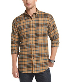 G.H. Bass & Co. Men's Fireside Classic-Fit Plaid Flannel Shirt