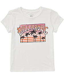 Big Girls Palm Tree-Print T-Shirt