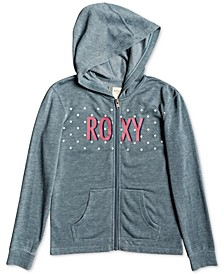 Little & Big Girls Zip-Up Logo Hoodie