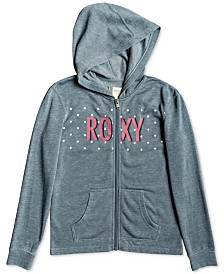 Roxy Little & Big Girls Zip-Up Logo Hoodie