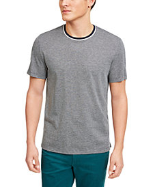 Michael Kors Men's Birdseye Weave Tipped T-Shirt