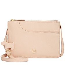Pockets Small Zip-Top Crossbody