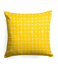 """EF Home Decor Indoor/Outdoor Reversible 25"""" Square Pillow"""