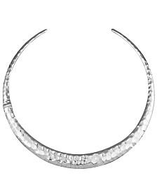 Prime Art & Jewel Sterling Silver Slip-On Necklace