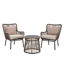 Ashley Furniture Cotton Road Outdoor 3-Piece Dining Table Set