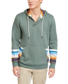 American Rag Men's Stripe Blocked Hoodie, Created For Macy's