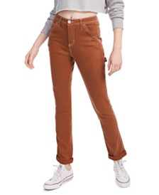 Dickies Contrast-Stitch Cotton Jeans