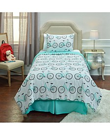 Bicycle Bed Twin 2 Piece Comforter Set