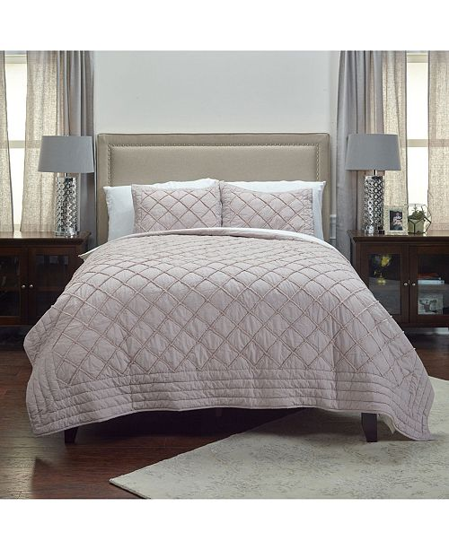 Rizzy Home Riztex USA Wren King Quilt
