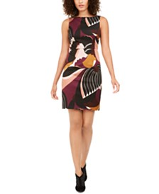 Trina Turk Printed Sleeveless Sheath Dress