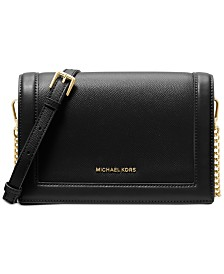 Michael Michael Kors Jet Set Full Flap Chain Crossbody