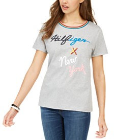 Tommy Hilfiger Logo T-Shirt, Created for Macy's