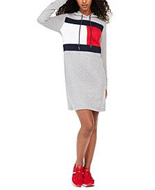 Tommy Hilfiger Logo Hoodie Dress