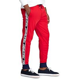 Polo Ralph Lauren Men's Logo-Tape Fleece Track Pants