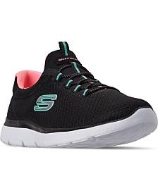 Skechers Women's Summits Wide Width Walking Sneakers from Finish Line