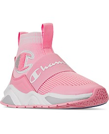 Champion Big Girls Rally Pro Casual Athletic Sneakers from Finish Line