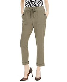 INC Tapered Drawstring Cargo Pants, Created for Macy's