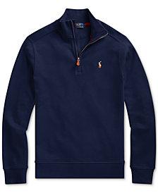 Polo Ralph Lauren Big Boys Interlock Cotton Sweatshirt