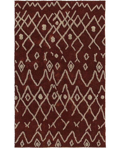 D Style Nomae Nom5 Copper 5' X 7'6 Area Rugs