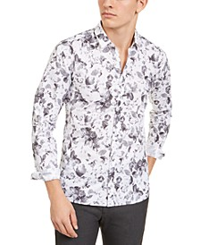 Men's Extra-Slim Fit Floral Shirt