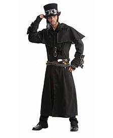 Men's Steampunk Duster Coat Adult Costume