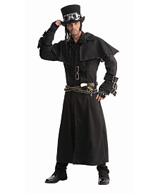 BuySeasons Men's Steampunk Duster Coat Adult Costume