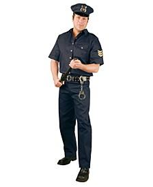 Men's Police Suit Adult Costume