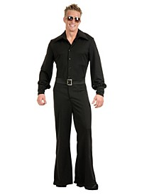 Men's Studio Jumpsuit Black Adult Costume