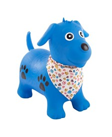 Happy Trails Bouncy Dog- Inflatable Indoor Ride