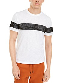 INC Men's Mesh Camo Stripe T-Shirt, Created For Macy's