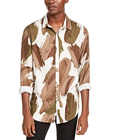 INC Men's Paint Stroke Shirt, Created For Macy's