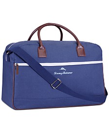 Receive a Free Duffel Bag with any large spray purchase from the Tommy Bahama Men's fragrance collection