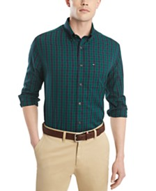 Tommy Hilfiger Men's Austin Classic-Fit Check Shirt
