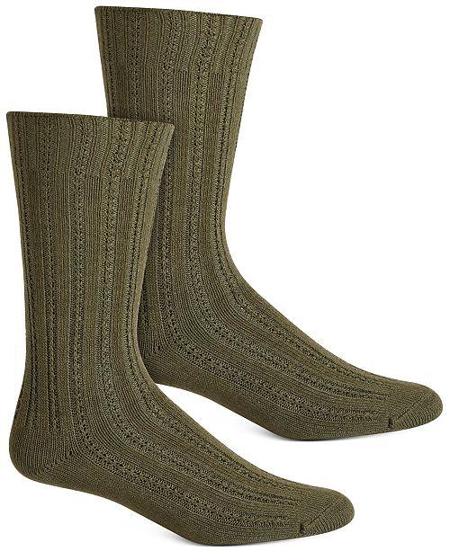 Hue Women's Temp Tech Tuck Stitch Ribbed Socks