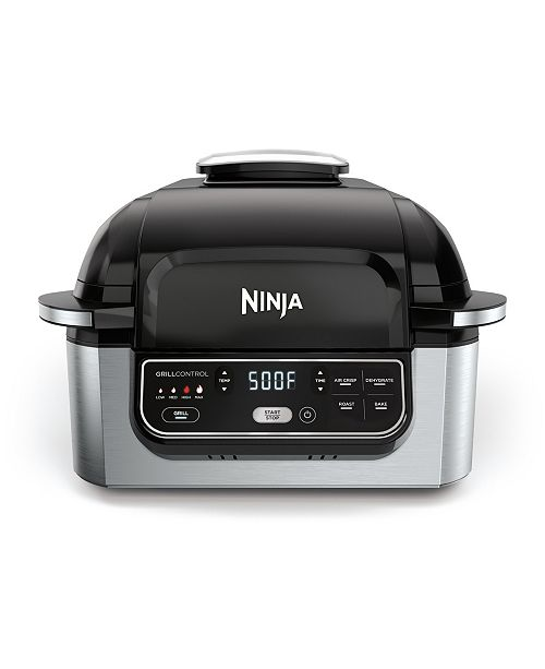 Ninja  Foodi 5-in-1 Indoor Grill with 4-Qt Air Fryer AG301