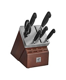 Zwilling Four Star 7-pc. Self-Sharpening Cutlery Set
